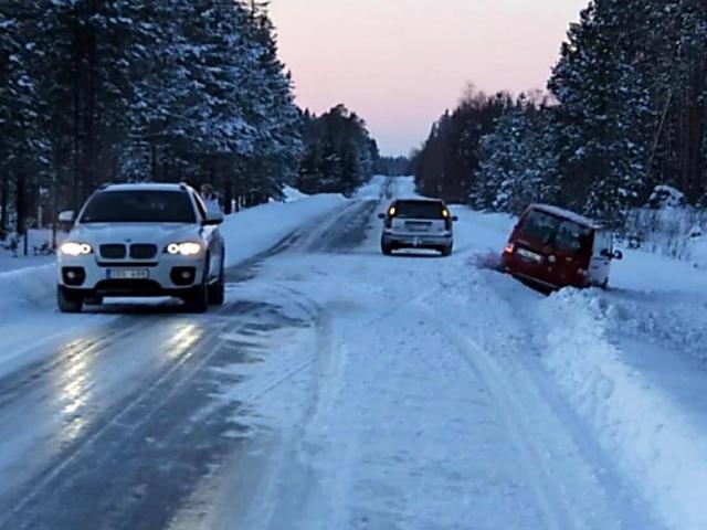 В эти выходные на уральских дорогах будет опасно из-за перепада температур