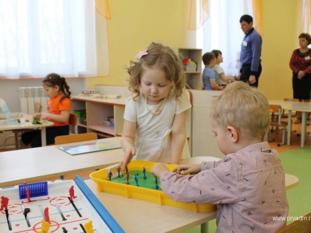 488 малышей посещают детские сады