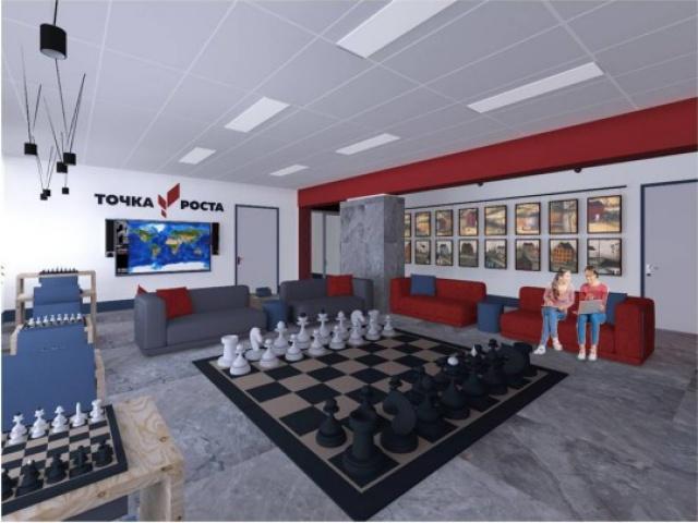 Открылся центр дополнительного образования «Точка роста»
